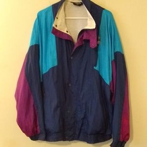 Dior Vintage Colorblock Nylon Jacket